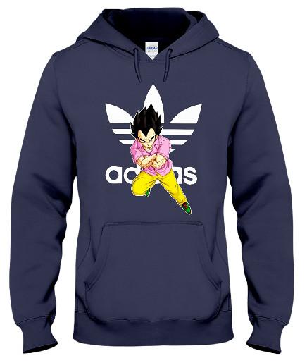 Vegeta Adidas Hoodie Sweatshirt Sweater