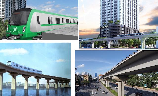 Tuyến tàu cao tốc Hà Đông - Cát Linh