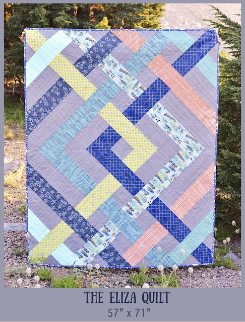 Kitchen Table Quilting: The Eliza Quilt Pattern