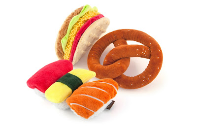 Adorable, durable food-themed dog toys
