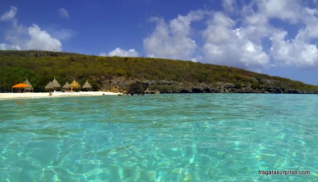 Curaçao - Praia de Cas Abao