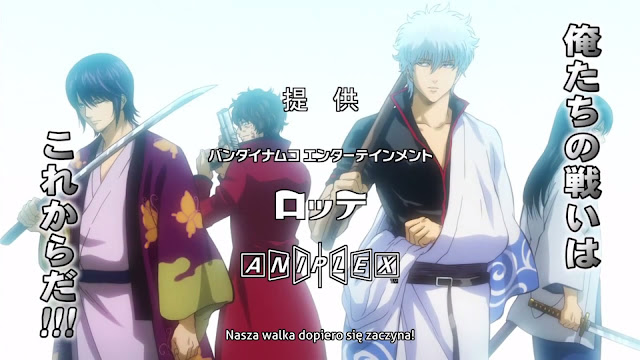 Gintama - Walka dopiero się zaczyna