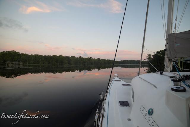 Dawn, Pasquotank River, ICW North Carolina