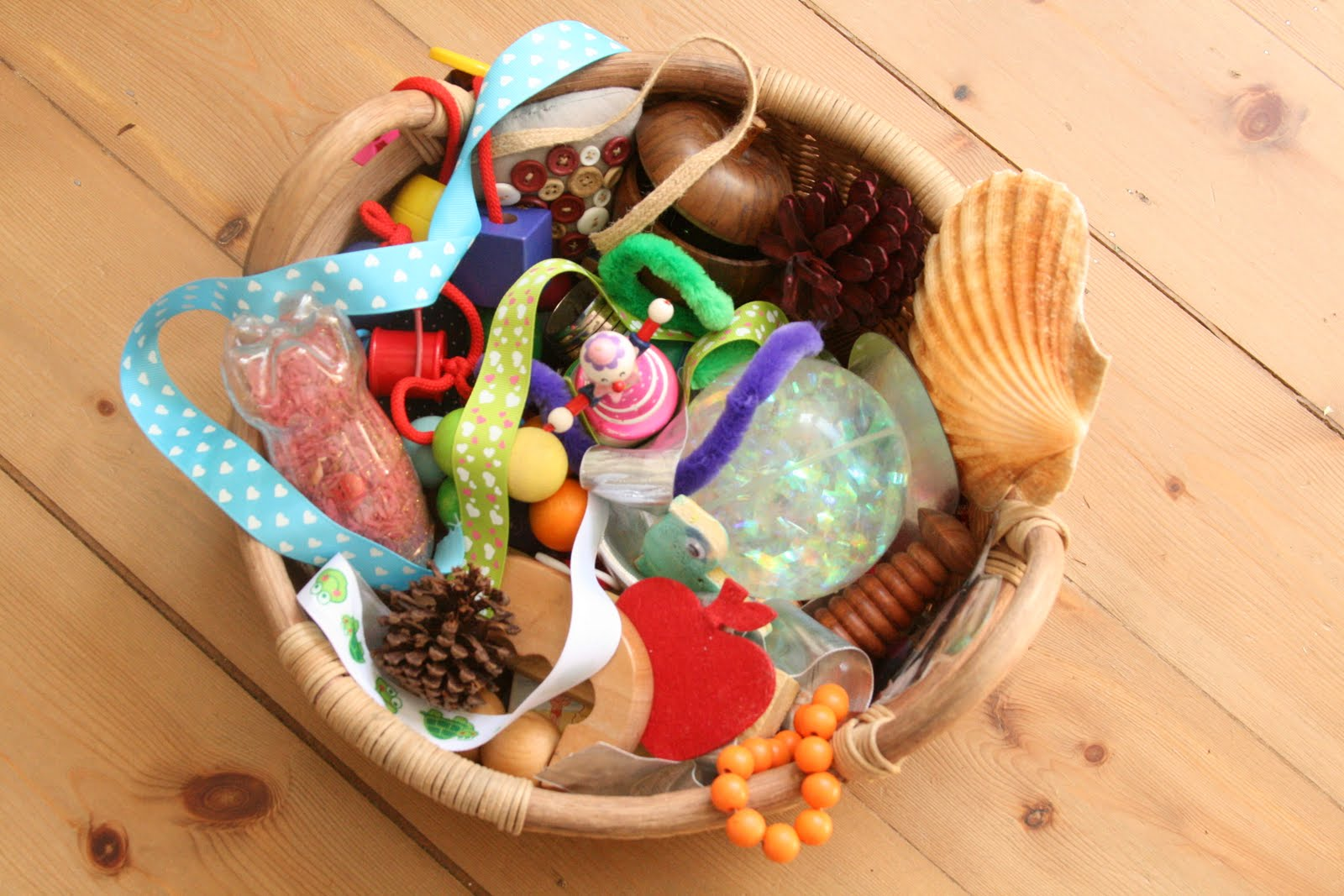 Baby Treasure Basket 12 Months The Imagination Tree