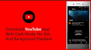 YouTube Mod Apk v13.46.51 Tanpa Iklan, Black Theme & BG Play