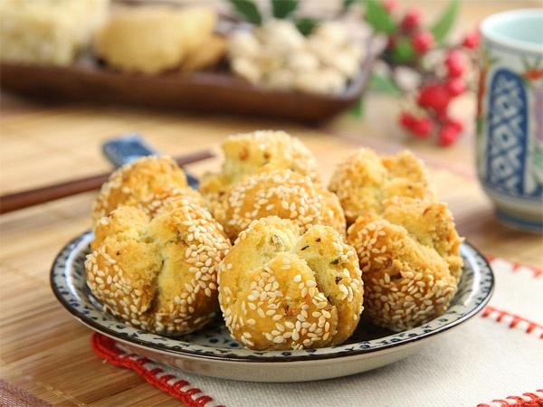 Bánh rán hạt rẻ cười