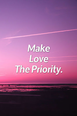 "Make Your Relationship ""The Priority"""