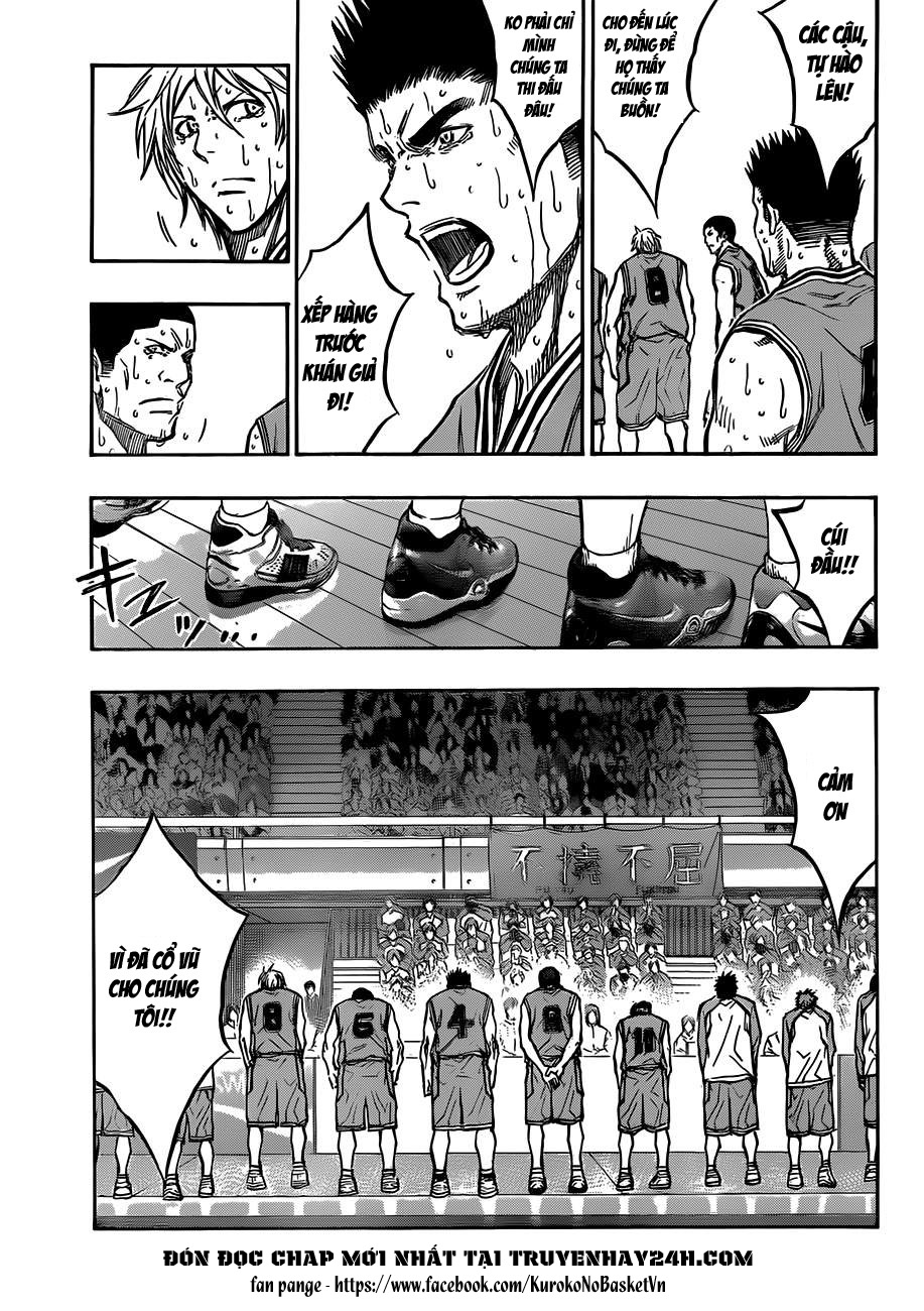 Kuroko No Basket chap 183 trang 7