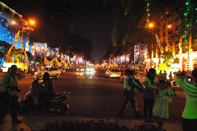 Tet a Saigon (Vietnam)