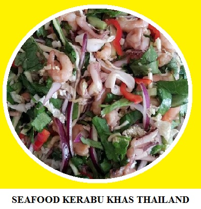 SEAFOOD KERABU KHAS THAILAND