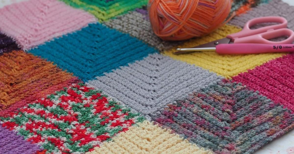 3 Colour Crochet Blanket