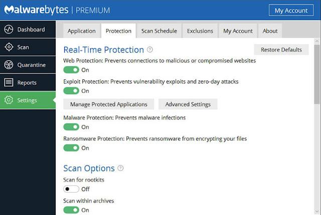 Malwarebytes Anti-Malware Premium Crack Lifetime