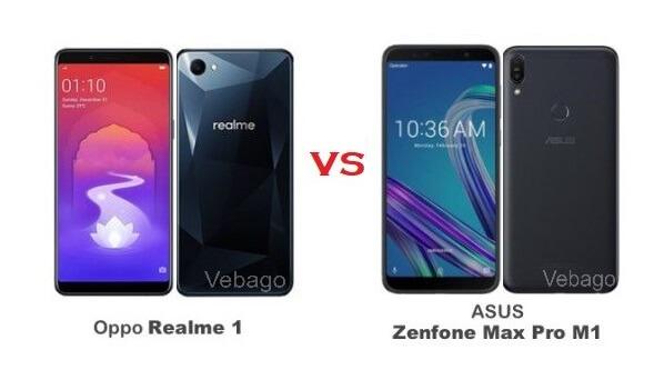 Oppo Realme 1 vs Asus Zenfone Max Pro M1