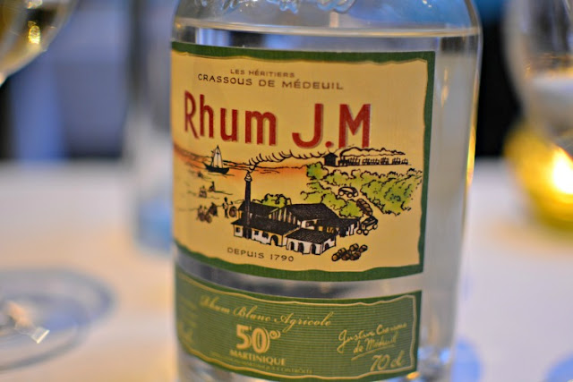 Rhum JM from martinique