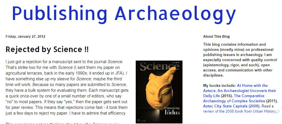 Publishing Archaeology: How archaeology is distorted by