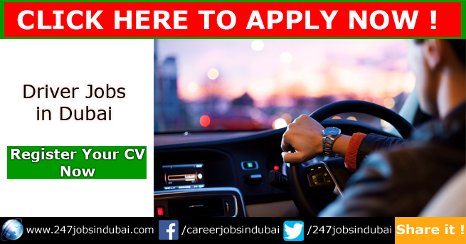 New Driver Jobs Openings in Dubai