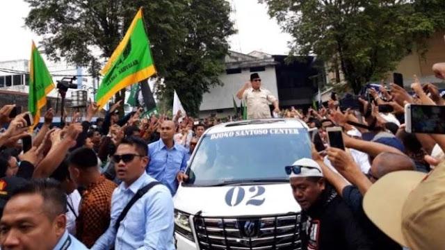 Prabowo: Saya Didukung PPP yang Sah, Bukan Hasil Akal-akalan