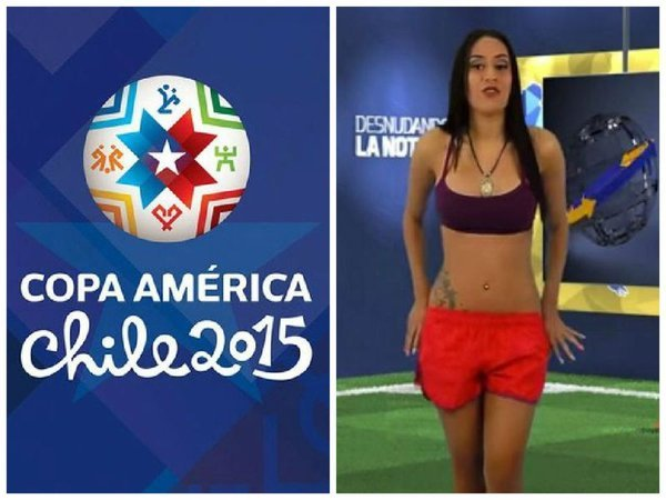 Presentadora De Tv Se Desnuda Por Triunfo De Venezuela Ver Video
