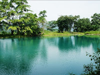 The second prettiest Lake North sumatera (Lake-rolled) Indonesia
