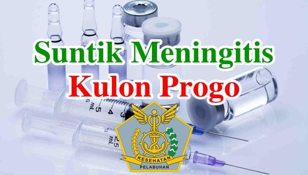 Alamat Tempat Suntik Vaksin Meningitis di Kulon Progo