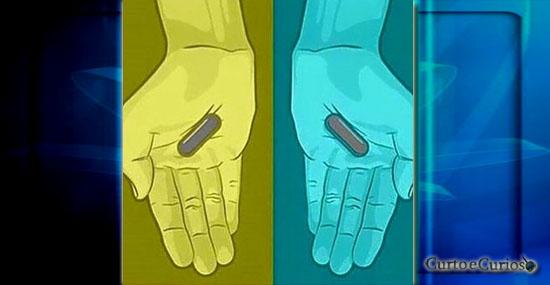 A dúvida voltou - De que cor são essas pílulas - Capa