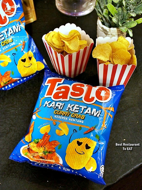 Tasto Potato Chips - Curry Crab - Kari Ketam