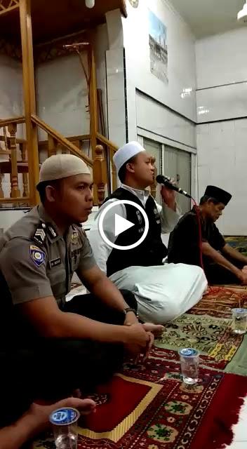 Tim safari radhan Polsek Tanjungbalai Selatan mengunjungi masjid Syuhafa 45.