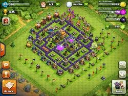 Clash of Clans farming Trophy Cheats