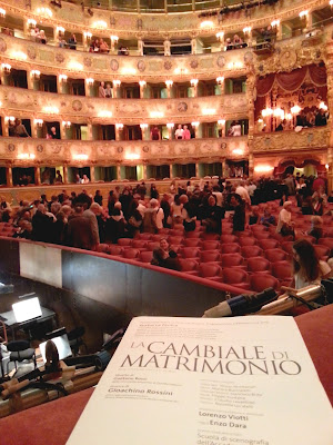 Le Chameau Bleu - La Fenice à Venise - Opéra
