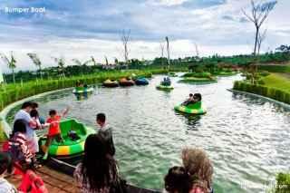 Villa murah dekat wisata dan rekreasi kampung gajah wonderland