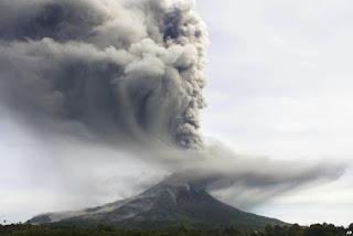 Letusan gunung sinabung sudah terjadi berkali-kali sejak tahun 2010