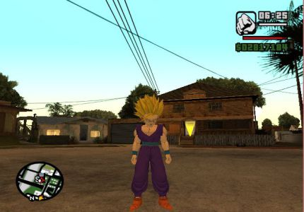 Download GTA San Andreas Goku Mod Highly Compressed Game For PC