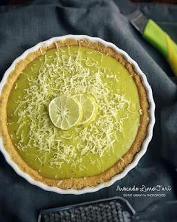 Ide Resep Kue Avocado Lime Tart