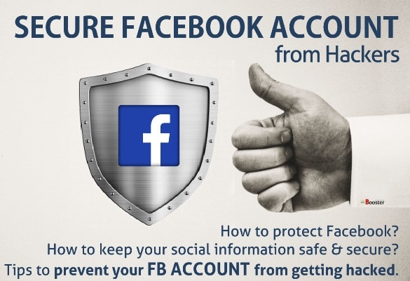 how to secure facebook account from hackers security tips