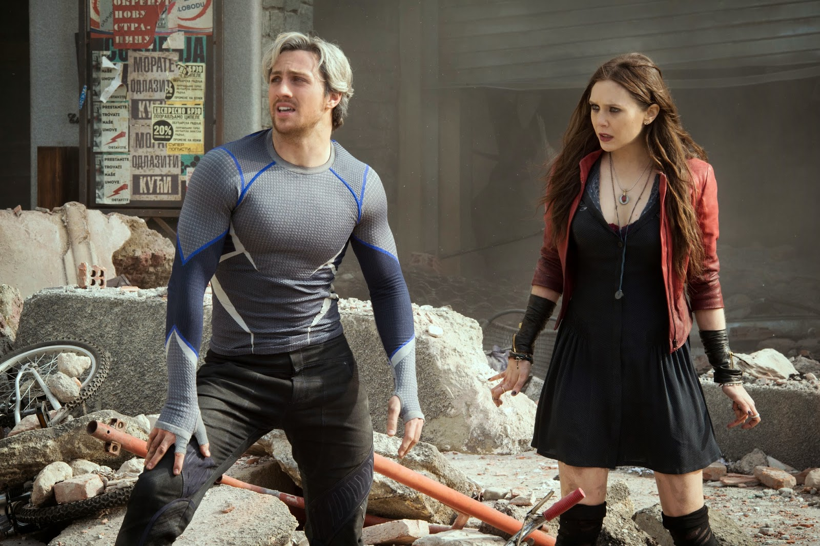 Quicksilver and Scarlett Witch