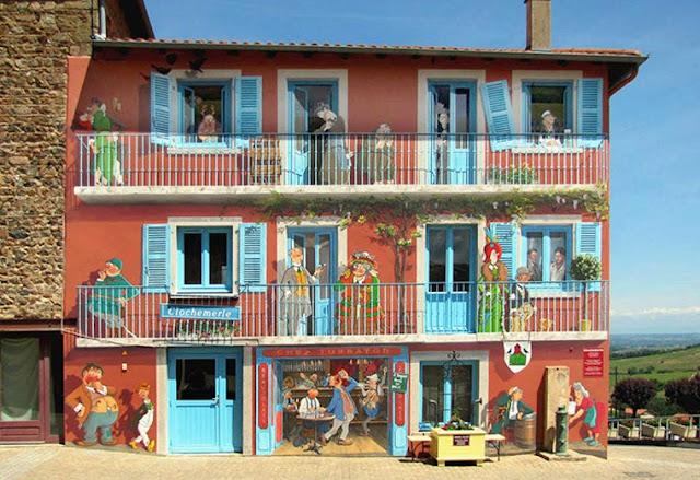 gambar lukisan 3d pada bangunan paling keren dan paling menakjubkan di dunia-7