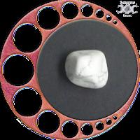 Instrumentos mágicos naturais - Presentes da Deusa Mãe: Howlita