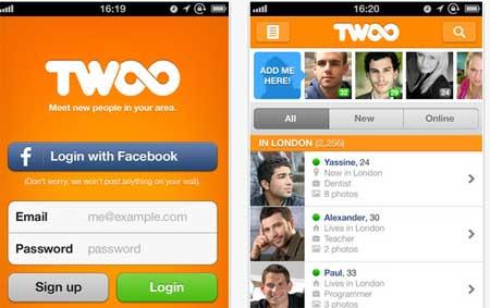 Aplicaciones Twoo Android e i OS verifican perfiles Falsos