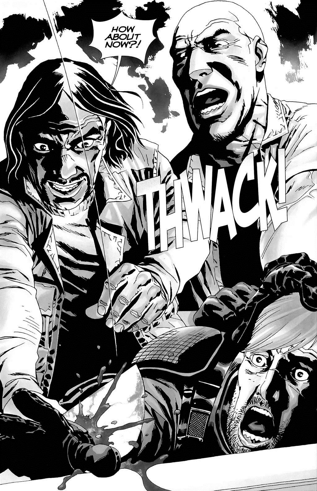Walking Dead Governor Loses His Eye