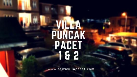 Sewa Villa Pacet Murah Villa Puncak Pacet