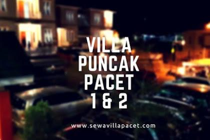 Villa Puncak Pacet 1 & 2 , Villa TERBARU Hadir Di Akhir Tahun 2017