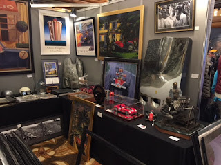 Our Gallery.  We brought plenty of exquisite pieces and  everyone wanted to see them