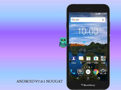 Harga Blackberry Aurora Sudah OS Android Nougat