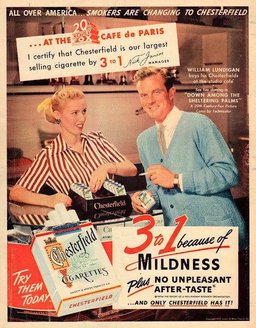 Cigarette Ads In 1950s Vintage Everyday