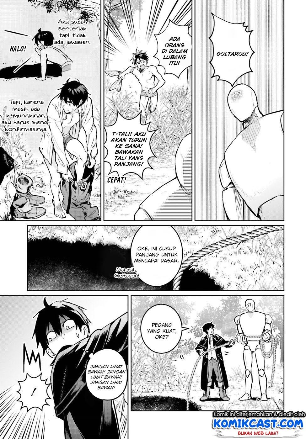 The Sorcerer King of Destruction and the Golem of the Barbarian Queen Chapter 03-40