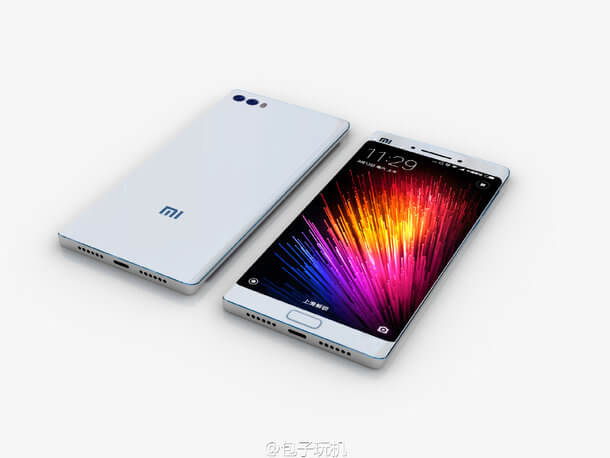 Xiaomi Mi Note 2 Leaked In Images