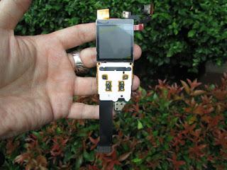 Flexible Nokia 8800 Fullset LCD Camera Baru Langka