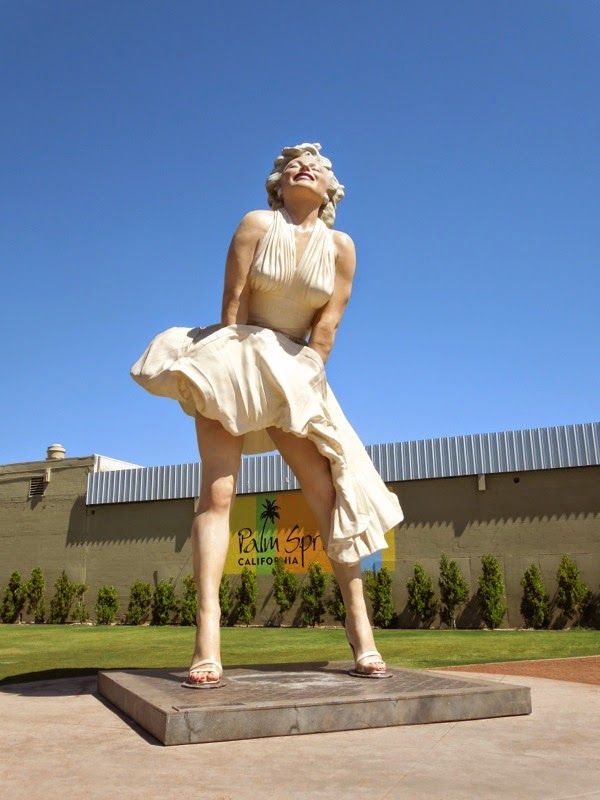 Forever Marilyn sculpture J. Seward Johnson Palm Springs