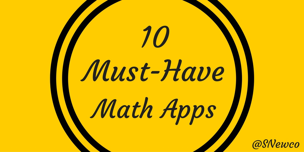 10 Must-Have Math Apps