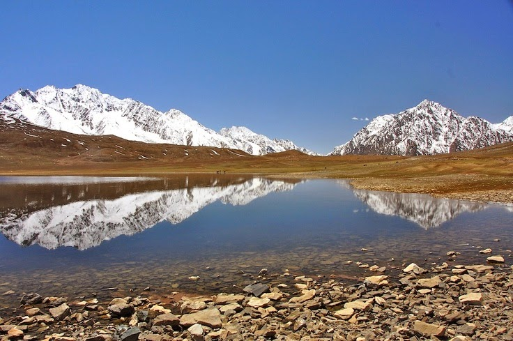 Lake on the way to The Shandur Pass 5 Best Places To Discover In Pakistan